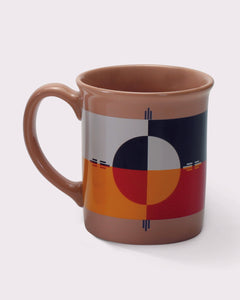 Pendleton Woolen Mills circle of life mug soup tea coffee ceramic gift holiday drink warm beverage Native American legend history tradition