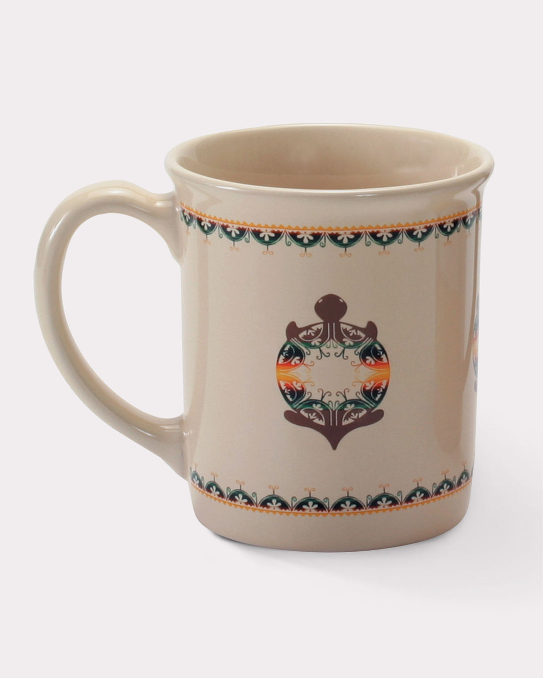 Pendleton Woolen Mills Legendary mug turtle creation Native American heritage legend tradition coffee tea cup soup mug ceramic gift large