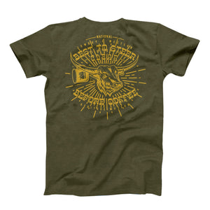 Steer Clear T-Shirt, Olive