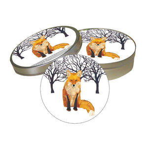 Winter Fox Pulpboard Coaster Set