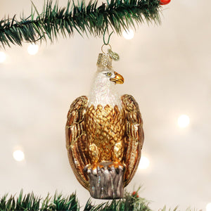 bald eagle ornament for christmas tree from old world christmas united states of america usa symbol of the us