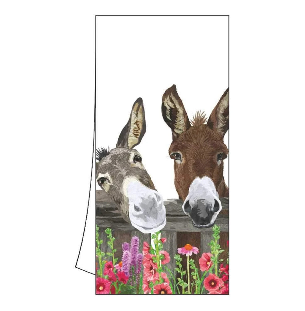 Peanut Butter & Jelly Kitchen Towel, Donkey Buddies