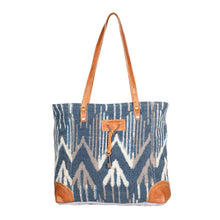 Load image into Gallery viewer, Beholden Blue Tote Bag