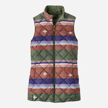 Load image into Gallery viewer, Pendleton Women's Bridger Reversible Down Vest, Olive