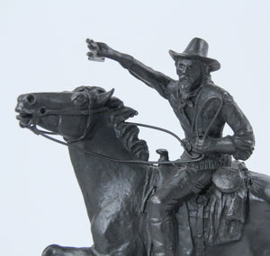 Buffalo Bill Cody statue sculpture bronze replica National Cowboy Museum marble base