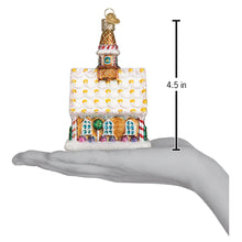 Load image into Gallery viewer, Gingerbread Church Ornament