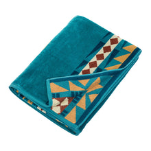 Load image into Gallery viewer, Pendleton Eagle Gift Turquoise Towel