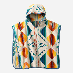pendleton woolen mills falcon cove sunset hooded towel kids children
