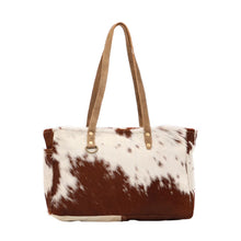 Load image into Gallery viewer, Fawn & White Hairon Small Bag