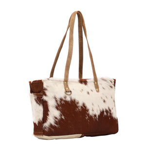 Fawn & White Hairon Small Bag