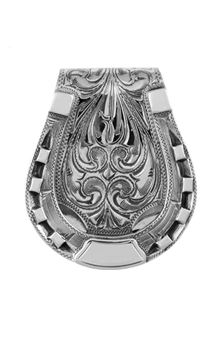 Bohlin Sterling Silver Horseshoe Money Clip