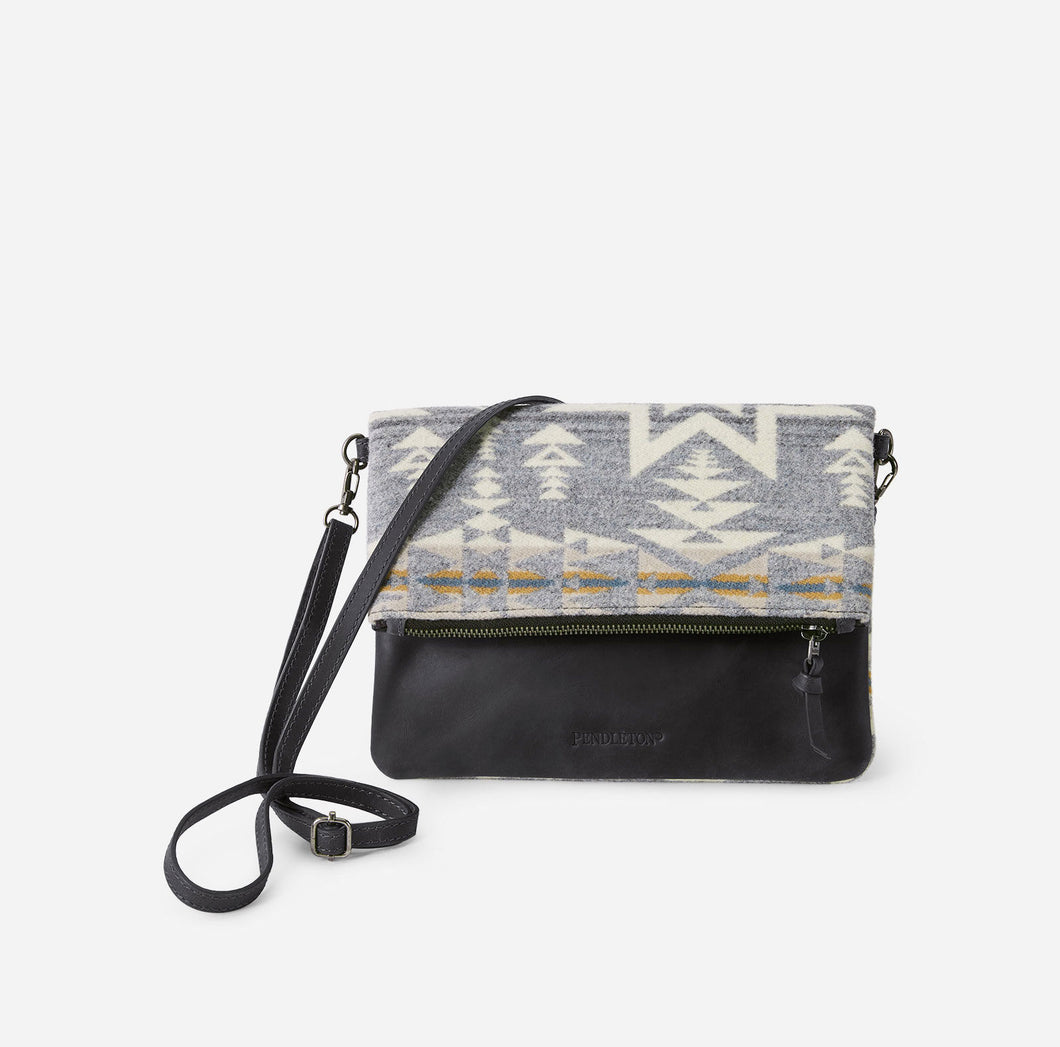 Pendleton Foldover Clutch, Plains Star
