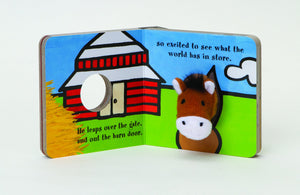 little horse finger puppet book children babies toddlers interactive story