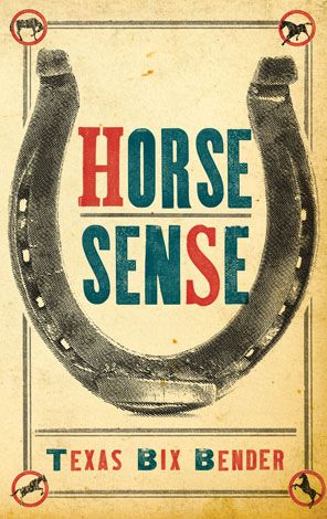 horse sense pocket sized humor book funny texas bit bender funny