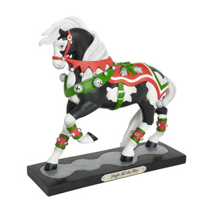 Jingle All the Way Painted Pony