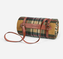 Load image into Gallery viewer, Motor Robe with Leather Carrier, Kent Plaid