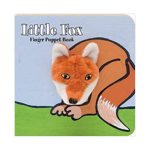 little fox finger puppet book children's baby story easy to read