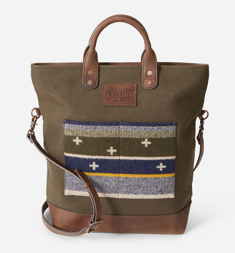 Pendleton Bridger Stripe Long Tote