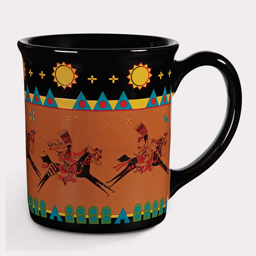 Pendleton Woolen Mills legendary mug series Lord of the Plains native american traditions legends coffee tea soup home decor riding horse