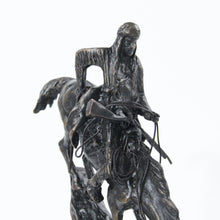 Load image into Gallery viewer, Mountain man statue sculpture bronze replica Frederic Remington