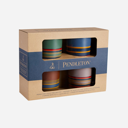 Pendleton Camp Stripe Mug Set