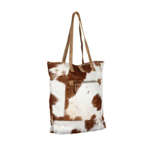Chestnut Hairon Tote Bag