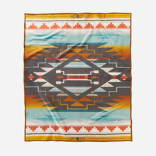 Load image into Gallery viewer, pendleton woolen mills nike n7 seven generations blanket robe native american college fund front