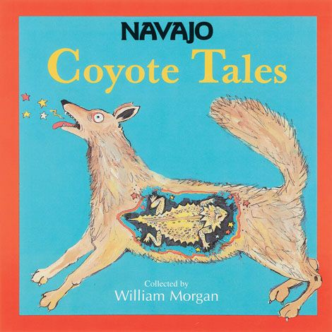 Navajo coyote tales children's book parables native american animal stories fables translated