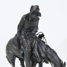 Load image into Gallery viewer, The Norther sculpture replica bronze statue by Frederic Remington