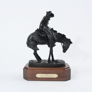 The Norther sculpture replica bronze statue by Frederic Remington