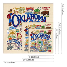 Load image into Gallery viewer, Oklahoma city art print catstudio wall art gift wedding present housewarming