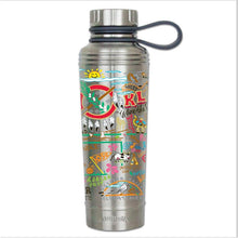 Load image into Gallery viewer, Oklahoma thermal bottle water coffee travel work home gift CatStudio kitchen eco-friendly low waste favorite ok
