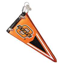 Load image into Gallery viewer, Oklahoma State University Pennant Ornament