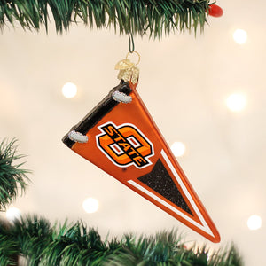 Oklahoma State University Pennant Ornament