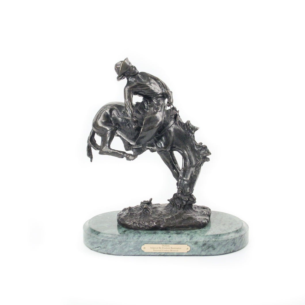 The Outlaw, Large Bronze