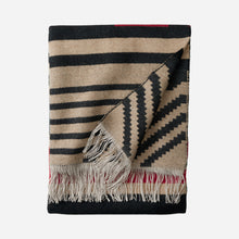 Load image into Gallery viewer, Pinyon Stripe Fringed Throw