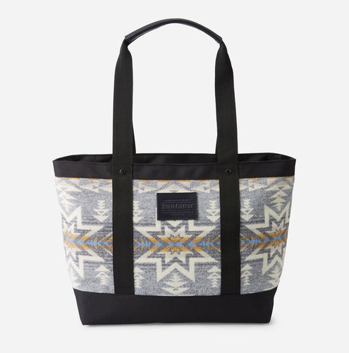 Pendleton Plains Star Zip Tote