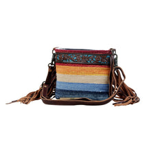 Load image into Gallery viewer, Etched Rainbow Tooled Bag