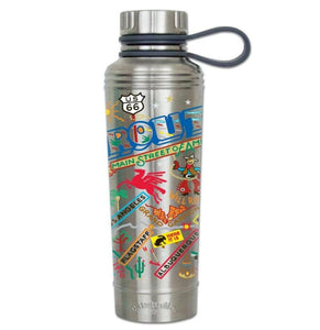 CatStudio Route 66 thermal bottle water coffee travel highway stainless steel gift unisex