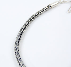 teller indian jewelry sterling silver chain necklace simple handmade