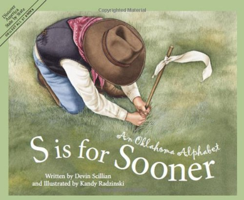 s is for sooner childrens book picture book about Oklahoma and learning the alphabet