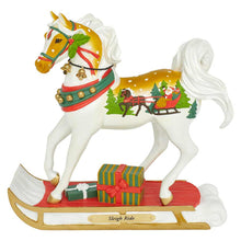 Load image into Gallery viewer, Sleigh Ride Painted Pony