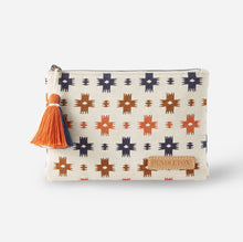 Load image into Gallery viewer, Pendleton Cotton Zip Pouch, Sweet Water