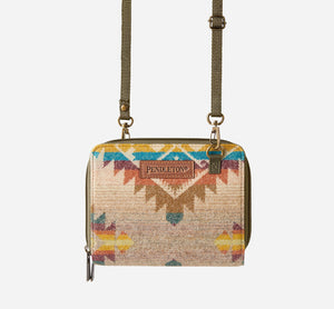 Pendleton Wallet on a Strap, Taos Trail