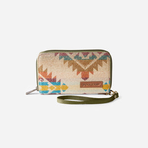 Smart Phone Wallet, Taos Trail Tan