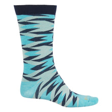 Load image into Gallery viewer, Pendleton Tapas Crew Socks, Turquoise