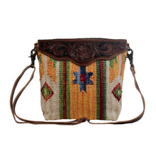 Load image into Gallery viewer, Tini Mini Hand Tooled Bag