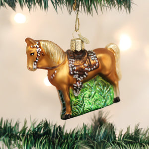 Western Horse Ornament