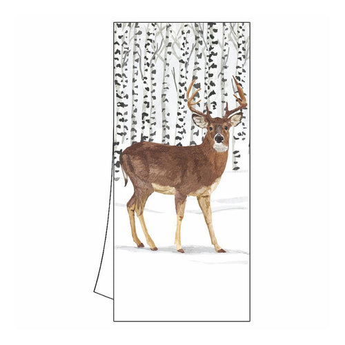 Winter Stag Kitchen Towel