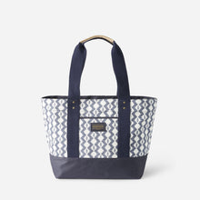 Load image into Gallery viewer, Pendleton Zigzag River Canopy Canvas Tote, Light Indigo